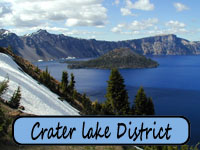 Crater Lake District