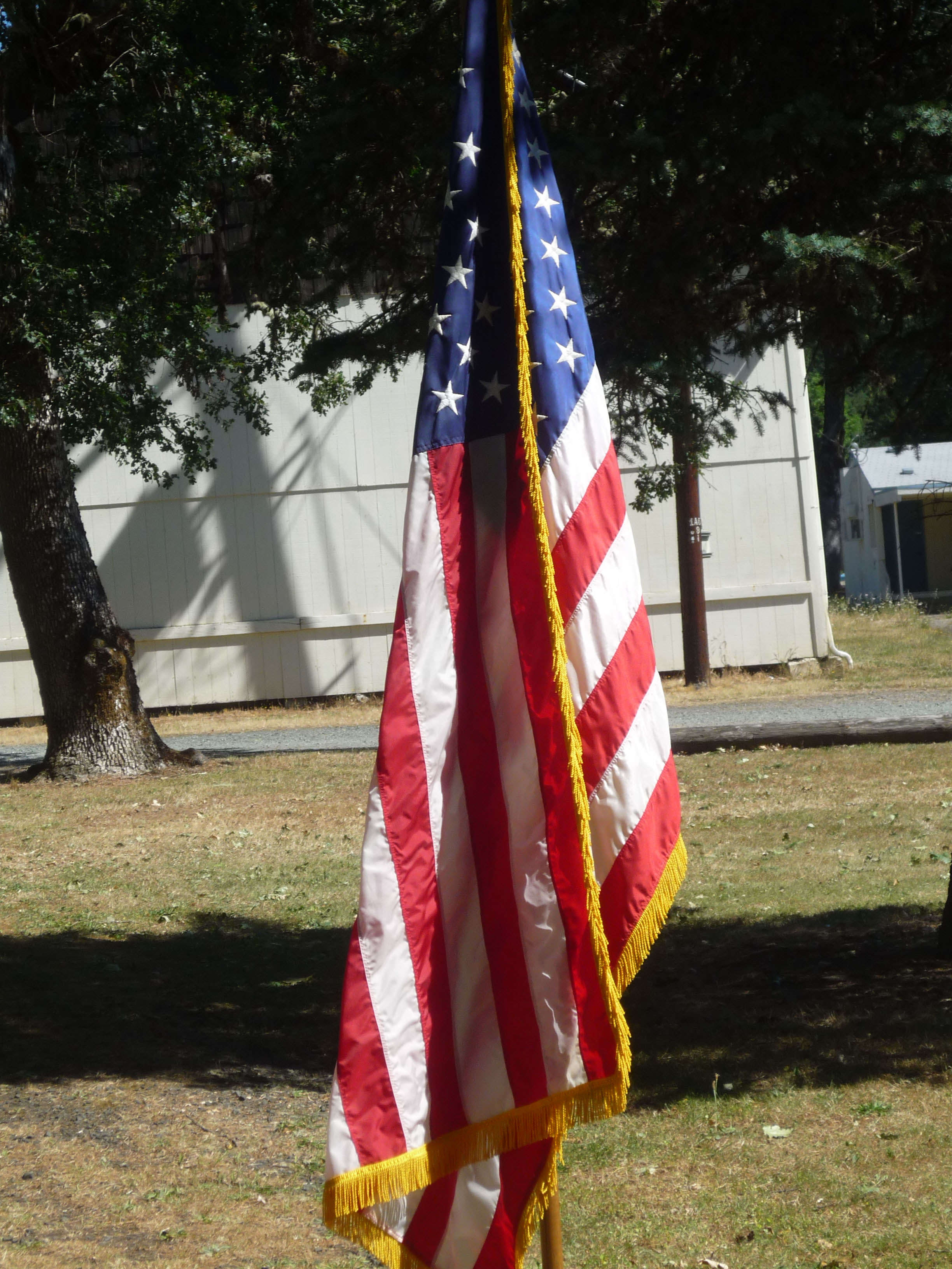 Outdoor service flag-1